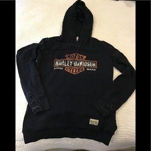 Women's Harley Davidson hoodie. Size S